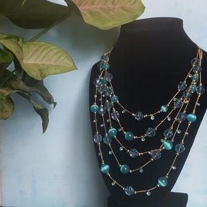 5 Layer Bead Necklace